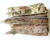 Silk Ribbon, Silk Bracelet, W550