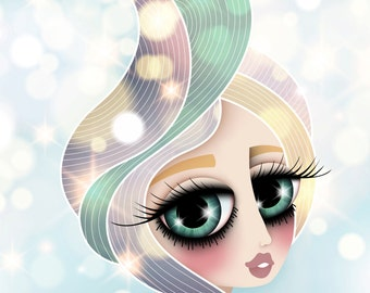Giclee Fine Art Print of my Digital Illustration