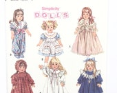 "UNCUT Simplicity 8211 18"" Doll Clothes Pattern"