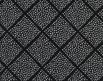 Black and White 2016 - Lattice Dots - Sarah Watts for Cotton + Steel - (5063-1) - 1/2 Yard