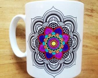 Adult Colouring Design Mug