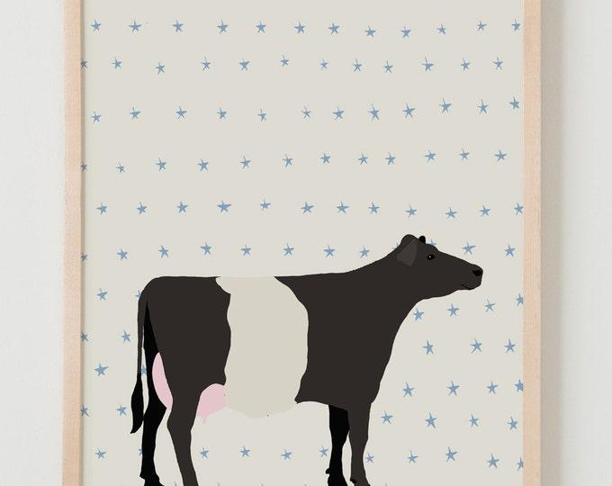 Fine Art Print.  Cow.  September 13, 2012.