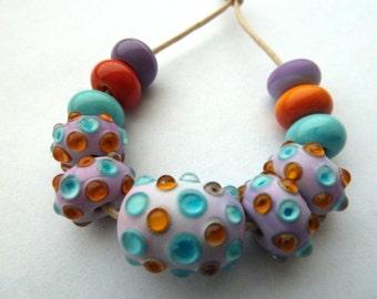 rio handmade lampwork glass beads
