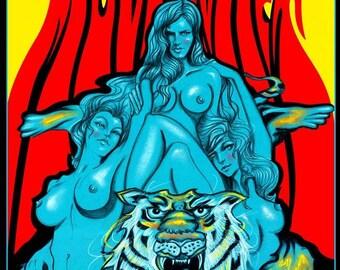 Mudhoney concert poster