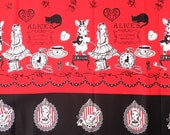 1/2 M Alice in Wonderland 100% Japan fabric , cotton fabric,fabric supplies