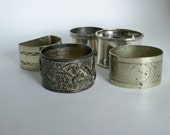 Instant collection of napkin rings