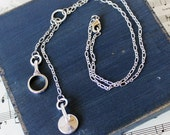 Clarinet Keys Dangle Necklace