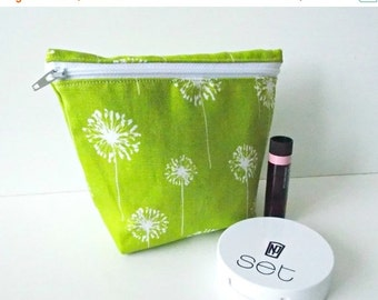 BACK 2 SCHOOL SALE Cosmetic Pouch - Small Makeup Bag - Toiletry Bag - Cosmetic Bag - Waterproof Bag - Wet Bag