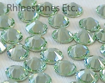 Chrysolite 20ss Swarovski Elements Rhinestones 2058 Flatback 36 pieces