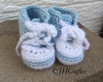 Little Blue Sneakers- Newborn Size