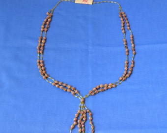 Native American Seed Necklace