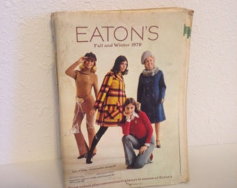 Vintage Eatons Catalogue, Vintage Fashion Photos, Vintage Mail Order Book, Vintage Home Catalogue, Vintage Fashion and Decor
