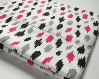 Ready to ship!! Ikat print swaddling blanket