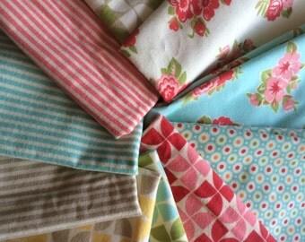 Moda Marmalade flannel half yard bundle by  Bonnie and Camille 10 piece