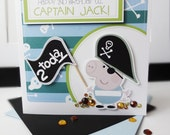 George Pig Pirate Themed Birthday Card!