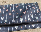 Binder or Pencil Pouch in Arrows