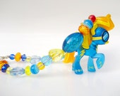 Spitfire - Yellow & Blue My Little Pony Blind Bag Necklace