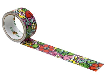 Colorful Flowers Duct Tape | Duck Brand Tape | Flower Power Hippie Tape