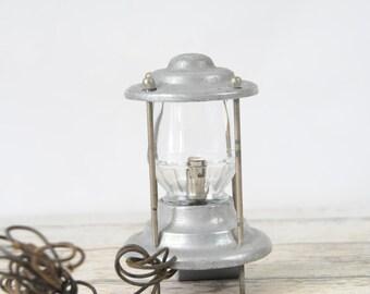 Vintage Boat Yacht Light Globe Glass Holland Brass Holland Brassworks Chicago Ill
