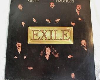Exile- Mixed Emotions- 1978 33 rpm Vintage vinyl record LP - James Pennington, You Thrill Me, Mike Chapman, Jimmy Stokley, Buzz Cornelison