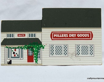 Millers Dry Goods, 1994 Cats Meow Amish Craftsmen Series