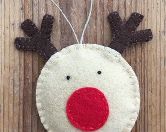 Rudolph - Christmas Ornament