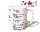 HTML Cheat sheet mug
