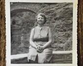 Original Vintage Photograph Aunt Augustine 1962