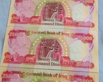 Iraq dinar