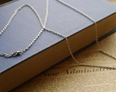 """6 pcs of 30""""  Antique Silver Silver Tone Chains with Lobster Clasps 3 x 2.5mm (SCN2743)"""