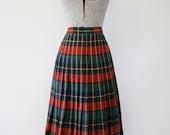 1950's Pendleton Turnabout Skirt / Size Medium/Large