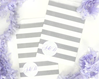 Personalised Monogram Stickers with Coloured Text