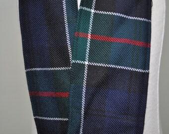 Hand fasting Cloth, Various tartans. Ferguson, Macleod Dress, Sinclair Red,  and Campbell of Argyll tartan. 100% wool. Handmade in Scotland.