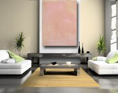 Large Wall Art Pink Contemporary Art Painting on Gallery Wrapped Canvas with Texture Pink Home Decor Modern Abstract Art by Cheryl Wasilow
