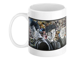 Mug of The Day of the Doctor from Doctor Who