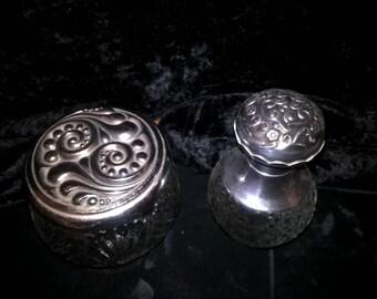 Art Nouveau Dresser Jars