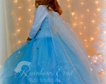 Frozen - Queen Elsa Tutu Dress sizes 12-18m, 18-24m, 2t, 3t, 4t, 5t, 6, 7-8
