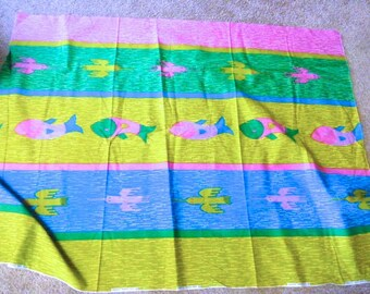 Colorful Southwest Fabric Piece by Ameritex Screen Prints