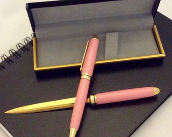Executive Pen and Letter Opener Gift Set Hand Made