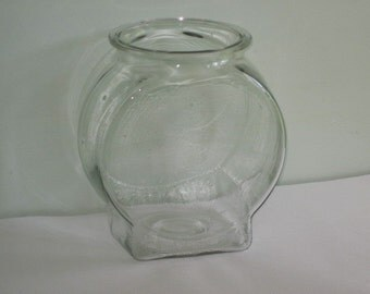 Large Vintage Planter's Peanuts Glass Jar