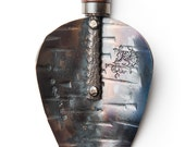 Handcrafted Garden Trowel - Hand Forged in Bozeman Montana, by Fisher Blacksmithing