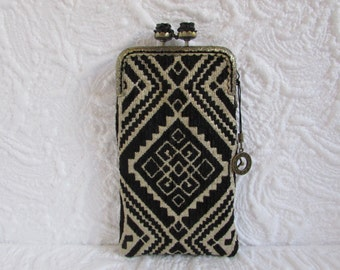139A - iPhone 6 Case Fabric, iPod Touch Case, Cell Phone Case, Samsung Galaxy Case, cover handmade