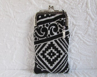 143A - iPhone 6 Case Fabric, iPod Touch Case, Cell Phone Case, Samsung Galaxy Case, cover handmade