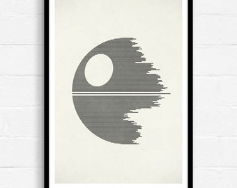 Sci Fi Movie Poster, Minimalist Movie Poster, Science Fiction Print, Film Print, Pop Art, Sci Fi Wall Art, Cult Movie Poster, Geekery, A3