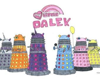 My Little Daleks original 11x17