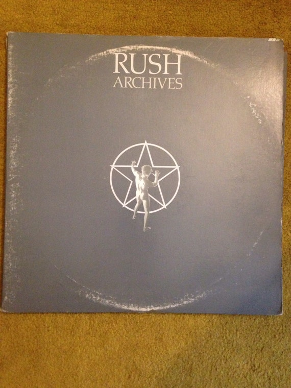 Rush Archive 3x LPs Album • Vinyl • Record 1970s Rock