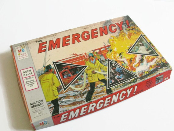 emergency the emergency game 1970s tv show board game. Black Bedroom Furniture Sets. Home Design Ideas