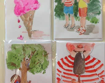 Summertime seires notecards