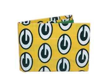 Green Bay Packers Duct Tape Wallet