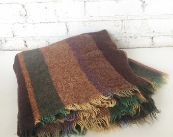 Vintage Wool Tontoon Blanket